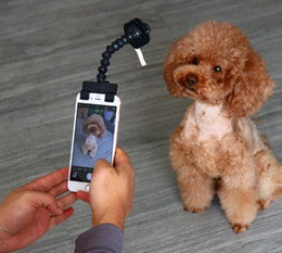 $enCountryForm.capitalKeyWord Canada - Pet Selfie Stick for Pets Dog Cat fit iPhone Samsung and Most Smartphone Tablet Black White