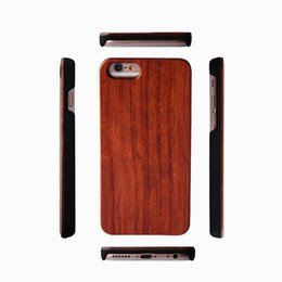 $enCountryForm.capitalKeyWord Australia - Hand-made Real Wood Case For Iphone X 7 8 6 6s Plus 5 5s Shock-proof Unique Bamboo Wooden PC Back Cover For Samsung Galaxy S9 S8 S7 S6 EDGE