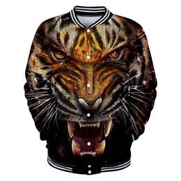 $enCountryForm.capitalKeyWord NZ - 2018 New Tiger 3D Jacket Women   Men Jacket Sweatshirt 3D Tiger Boys Girls Jackets Baseball Fashion Cool Thin Streetwear Clothes