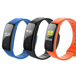 Smart Watches For Windows Australia - Wholesale Waterproof Fitness tracker Smart watches Smart Bracelet with Blood Pressure Monitor Wristband For apple phone