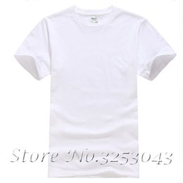 Blank T Shirt White NZ - Blank White T-shirt