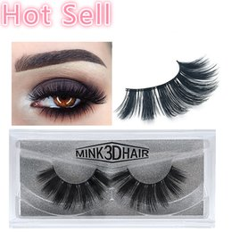 best synthetic eyelashes Australia - Best Selling products 3d Mink lashes Thick mink false eyelashes natural for Beauty Makeup eyelash Extension fake Eyelashes false lashes