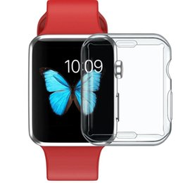 Touch Screen Watches NZ - For Iwatch 4 40mm 44mm 3D Touch Ultra Clear TPU Bumper Apple Watch Series 4 Screen Protector Apple Watch 1 2 3 Cases