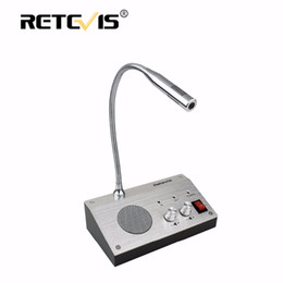 Radio counteR online shopping - Retevis RT Dual Way Counter Interphone Audio Record Anti interference Window Intercom System For Bank Hospital Bus Station
