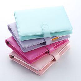 Discount school weekly planner - Macaron 2.0 cute spiral notebooks stationery,fine office school personal agenda organizer binder diary weekly planner gi
