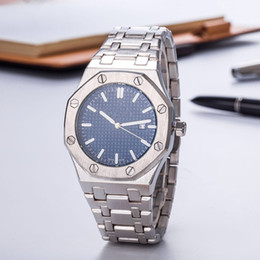 Ship Free Mens Wrist Watches Australia - Free Shipping Casual mens watches Luxury brand small dial works Gold Stainless Steel strap quartz wrist watch for boy men male