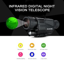 $enCountryForm.capitalKeyWord Canada - SUNCORE 5 x 40 Infrared Digital Night Vision Telescope High Magnification with Video Output Function Hunting Monocular 200m View