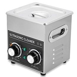 Портативный мини ультразвуковой очиститель 2 л 3.2 л ультразвуковой ванна машина регулируемый нагреватель таймер очистки ювелирных изделий ложные зуб бритвы 220-240 В NB