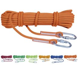 Static work online shopping - Xinda outdoor downhill safety rope aerial work air conditioning installation insurance rope rescue rope color complete specifications