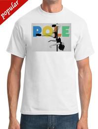 Cool White Shirts Mens NZ - Pole - Pole Dancing - Cool - Mens T-Shirt