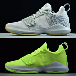 paul george shoes mens green