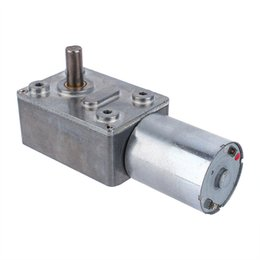 Motoriduttore riduttore Micro 12V DC Worm Reversibile High Torque Turbo Motoriduttore elettrico 2/3/5/6/10/20 / 30/62/100 RPM in Offerta