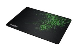 goliathus razer speed mouse pad UK - New Razer Goliathus Gaming Mouse Pad 320x240x4mm Locking Edge Mouse Mat Speed Control Version For Dota2 3 CS Mousepad Free Shipping