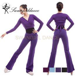 $enCountryForm.capitalKeyWord Canada - adult Yoga Fitness Gym Cotton Long Stretch ballet CT2053 Dance Pants Women dance Workout running pants