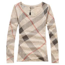 14e9d6ece83 Quality wool sweaters women online shopping - Jinmei Spring Plaid Sweater  Brand Fashion New Women Casual