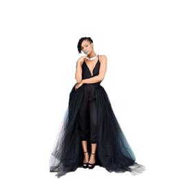 4Layers черный наложение юбка мода длинные пачки тюль юбка невесты Overskirt шикарный длина пола Saia Longa съемный свадебные юбки