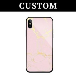 mirror glass iphone case NZ - 100pcs For iPhone 8 Case Cover For iPhone 7 Plus Silicon Frame + Mirror Tempered Glass Back Cover For Apple iPhone X free shipping