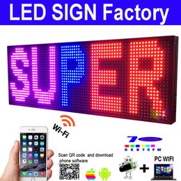 Displaying boarD online shopping - P13 Outdoor x quot LED SIGN COLOR Programmable LED DISPLAY Commercial IMAGE TEXT SCROLLING Message Board Display for Window OPEN