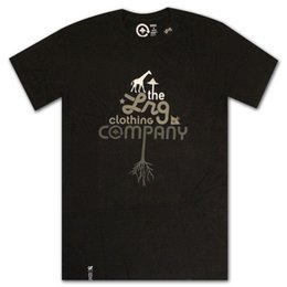 T-shirt nera Lrg Core Collection in Offerta