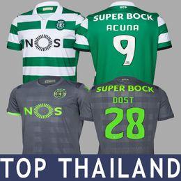 18 19 Dost Fernandes Acuna Martins Carvalho Soccer Jersey Football Shirt  Camisa de Futebol 2019 Camiseta de Futbol Maillot de Foot MAGLIA 6daaec117