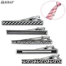KBAP Hommes De La Mode Cravate Bar Clip Classique Attache De Cravate En Métal Fermoir Des Cadeaux Parfait pour les Hommes Père Ami Mari