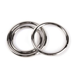 China Male Aluminum alloy metal penis ring Delay Ejaculation cock toys for men Erotic cockring 38 40 50mm Party Favor suppliers