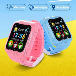 $enCountryForm.capitalKeyWord NZ - GPS LBS AGPS Children Smart Watch Waterproof K3 Kids Watch Support SIM TF Card Voice intercom Touch Screen Baby Kids Wristwatch
