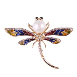 Chinese  Heat Sell Women's Clothes And Ornaments Brooch New Pattern Major Suit Popular Diamond Dragonfly Brooch Brooch manufacturers