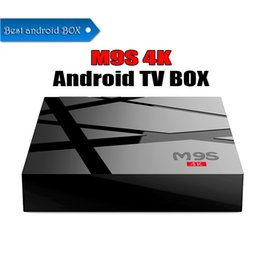 google smart tv box rom Canada - 2G RAM 8G ROM M9S 4K version android 6.0 4K ultra-hd output smart tv boxes Better M8S PRO S905W S912
