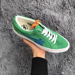 0ba6386d4e6a SUEDE ONE STAR OX TYLER THE CREATOR GOLF LE FLEUR SOLAR POWER WHITE  GLFLEFLRSLRPWR 160323C JADE LIME CANVAS SUEDE SKATE SHOES SNEAKERS