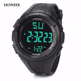 $enCountryForm.capitalKeyWord NZ - HONHX Fashion Men Watch LED Waterproof Watch Men Digital Quartz Wrist For Males Sport Date Clock Relogio Masculino #13