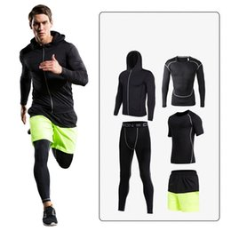 $enCountryForm.capitalKeyWord Canada - 2017 New Brand Fitness Thermal Tracksuits Men's Sporting Suit Clothing Chandal hombre Men Jacket joggers Sportswear 4pcs sets
