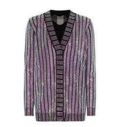 $enCountryForm.capitalKeyWord UK - High end women Viscose Crystal embellished cardigan New fashion women's v-neck shiny rhinestone wild long-sleeved knit cardigan coat jacket