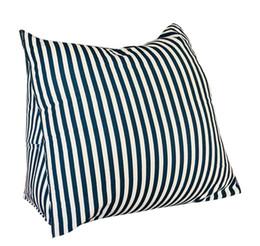 Triangle Bedding UK - EONSHINE Fluffy Microfiber Filled Triangle Cushion, Wedge Pillow Bolster for Bed Sofa Backrest TV Reading, Corduroy, Set of 1