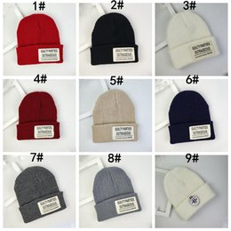 Cute winter beanies for women online shopping - 37 Styles Cute Winter Beanie Hat With Solid Color Knitted Hat For Men Women Big Kids Soft Warm Earflaps Caps