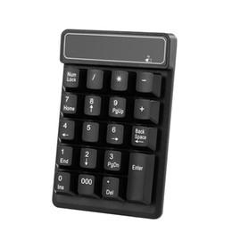 $enCountryForm.capitalKeyWord Australia - 2.4Ghz Wireless Numeric Keypad Mechanical Feel Number Pad Keyboard 19 Keys w  USB Receiver Water-proof for Laptop Desktop PC