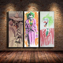 $enCountryForm.capitalKeyWord Australia - BURTONS-JOKERS,3 Pieces Canvas Prints Wall Art Oil Painting Home Decor (Unframed Framed)