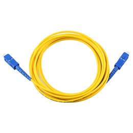 fiber optic pigtails NZ - 10pcs lot SC-SC single core fiber jumper fiber optic cable 3 meters SC pigtail