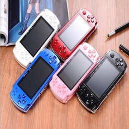 PmP mP5 mP4 games online shopping - 2018 hot Inch PMP Handheld Game Player MP3 MP4 MP5 Player Video FM Camera Portable GB Game Console