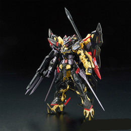 Tv Frame Plastic NZ - 1pcs RG 24 1 144 Gundam Astray Gold Frame Amatsu Mina MBF-P01-Re2 Mobile Suit Assembly Model Kits oh