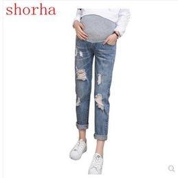 b9d7c069e2b Nurse Pants Canada - Pregnancy Jeans Maternity Pants For Pregnant Jeans  Women Clothes Trousers Nursing Prop