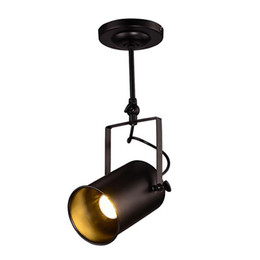 Chinese  Arts Lamp Track Light Retro Space Modern Minimalist American Industrial Bar Clothing Store Spotlights Ceiling Background Lamp manufacturers