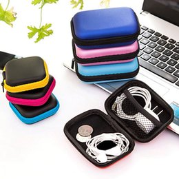 green box containers Australia - Hoomall Storage Bag Case For Earphone EVA Headphone Case Container Cable Earbuds Storage Box Pouch Bag Holder(without earphone)