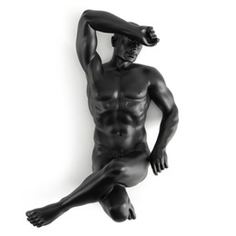 offices supplies UK - Home Resin creative ornament body art Modern nude male and masculine spirit Home ornament office decoration die art supplies