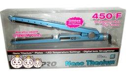 На складе Оптовая цена PRO 450F 1 1/4 тарелки babiliss plate Выпрямитель для волос Выпрямляющие утюги Flat Iron