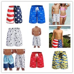 mixed swimwear Australia - 50pcs Hot Kids Board Shorts Surf Trunks Swimwear with Mix Colors Mix Size Twin Micro Fiber Boardshorts Beachwear Bulk