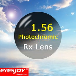 Wholesale Customized Photochromic Lenses Refractive Index Aspherical Rx Lenses Prescription lenses for Gray or Brown
