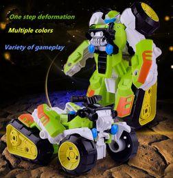 $enCountryForm.capitalKeyWord NZ - 50piece Second change warfare Transforming toy King Kong Step deformation beach motorcycle Puzzle robot kid toy