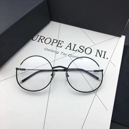 f7ec7506d6a3 Men round optical fraMe online shopping - Luxury Glasses Fashion Women  Brand Design Popular Glasses Hollow