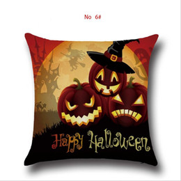 car sofa couch 2019 - Yellow Cushion Covers Halloween Throw decoracion Pillow Covers Car-Covers Pillowcover Sofa Decor Couch Plain Cushion cas